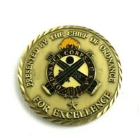 Ordnance Corps Challenge Coin Awarded by Chief of Ordnance for Excellence
