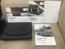 BMW 3 series saloon owners manual handbook 2012-2015