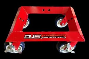 DJS Fabrications Universal Car Wheel Dolly DJS-00102  DOLLY ONLY!!! no adapters!