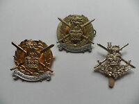 Army Foundation College, Boy Soldiers / Army Apprentice cap badges.
