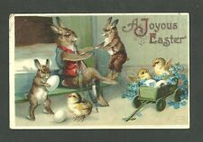 Used Postcard 1911 A Joyous Easter Postmarked In New York NY April 4 1911