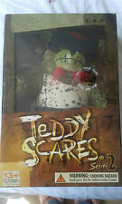 "TEDDY SCARES - Undead Zombie Plush 12"" Teddy Bear  ELI WRETCH  NEW IN SEALED BOX"