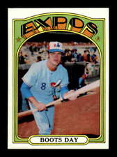 1972 Topps #254 Boots Day  NMMT X1523492