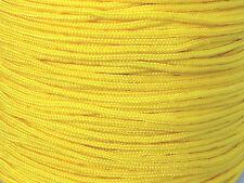 5M fil de nylon 1,5mm jaune