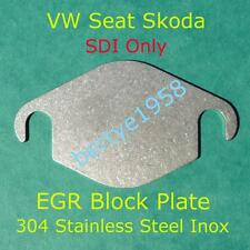 EGR blanking plate VW Skoda Seat SDi's inlet 54mm hole centres Stainless Steel