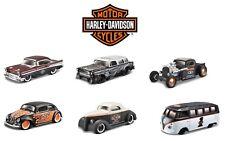 Harley Davidson 1957 Chevrolet Bel Air - 1 64 Scale Die-cast Car Model by Maisto
