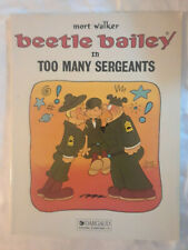 2 Beetle Bailey trade paperbacks from Dargaud: 'Friends', 'Too Many Sergeants'
