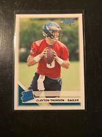 2019 Donruss #350 Clayton Thorson Rated Rookie Eagles RC