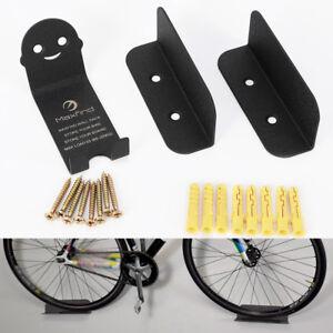 4X Fahrradwandhalter Pedaleinhängung Wandmontage Fahrrad Wandhalterung