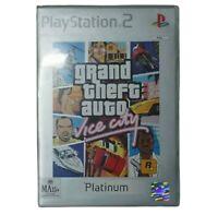 Grand Theft Auto Vice City Ps2 Playstation 2 Platinum