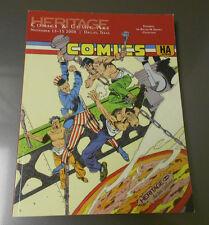 2008 HERITAGE Comics Comic Art Catalog ZOLTAN SZENICS Collection 350 pgs