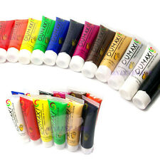 22ml 12 Color 3D Draw Paint Painting Brush Tube Acrylic UV Gel For Nail Art Tips