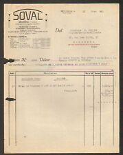 """BROUSSEVAL 52 : METALLURGIE """"SOVAL"""" en 1950"""