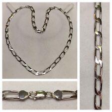 glanzvolle CADENA 925 Plata Collar de Plata Joyería Plata COMO NUEVO