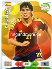Adrenalyn XL - David Silva - Spanien - Road to 2014 FIFA World Cup Brazil