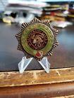 Vintage 1970s Eastern Block OBSOLETE Foriegn Firemans Medal