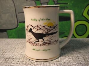 Roadrunner Mug - Valley Of The Sun - Phoenix Arizona Souvenir