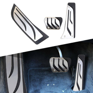 For BMW 1 2 3 4-Series RHD Footrest Brake Gas Pedal Cover Kits F20 F22 F30 F32 G