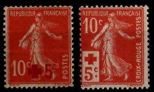 Déstockage : ANNÉE 1914 Complète, Neufs * = Cote 46 € / Timbres France 146 147