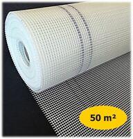 50m Rolle Armierungsgewebe - 160g Gewebe Putzgewebe WDVS Glasfasergewebe