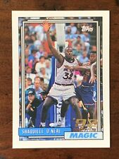1992-93 TOPPS GOLD SHAQUILLE O'NEAL RC SHAQ ROOKIE CARD-NICE!!