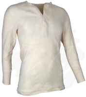 Genuine US Military Issue Wallace Beery Thermal Top, Used, White