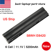 Lot Battery for Dell Latitude E5420 E5430 E5520 E5530 E6420 E6430 E6520 CHARGER