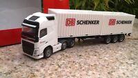 """Herpa  Volvo FH Gl. XL 6x2 Container-Sattelzug """"DB Schenker"""" 305839 Neu OVP 1:87"""