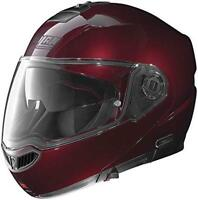 Nolan N104 Absolute Solid Motorcycle Helmet Small Wine Cherry SM Size