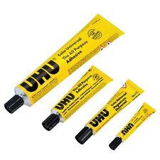 UHU All Purpose Adhesive Glue DIY Tube Crystal Clear Strong All Materials Repair