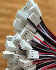 Molex 3pin three 3 pin 2.54mm female connector with wires - UK Seller