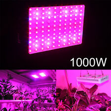 1000W Led Grow Light Full Spectrum Plant Lamp Panel Indoor Veg Flower 100x10W