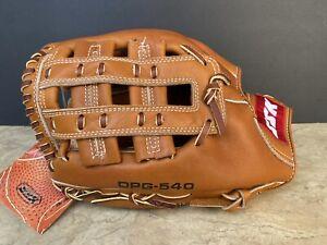 "Vintage SSK Sasaki 12.25"" DPG-540 Dimple Leather Baseball Glove LHT - NEW NOS"