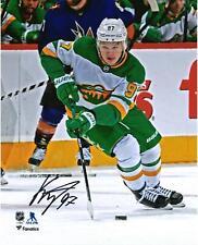"Kirill Kaprizov Minnesota Wild Signed 8"" x 10"" Reverse Retro Jersey Skate Photo"