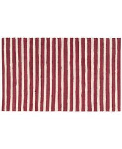 $50.00 Nourison Brunswick Stripe Accent Rug, Red