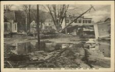 Montpelier VT 1927 Flood Damage VINTAGE EXC COND Postcard #14
