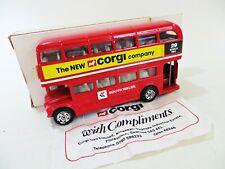 CORGI 482 'AEC ROUTEMASTER BUS - SOUTH WALES. NEW CORGI COMPANY'. 1:64. BOXED.