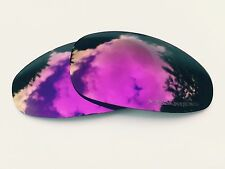 ENGRAVED POLARIZED PURPLE CUSTOM MIRRORED REPLACEMENT OAKLEY JULIET LENSES