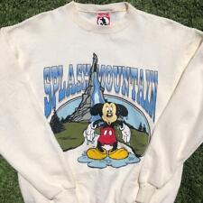 Deadstock VTG 90s Mickey Inc Splash Mountain Park Ride Graphic Sweat Shirt XL
