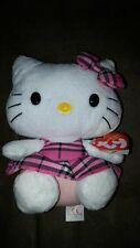 Free Shipping! Hello Kitty plush Beanie Baby Ty Nwt New with Tags Beanie Babies