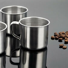 Tea Tumbler Pint Metal Drinking Coffee Mug Camping Portable Cup Stainless Steel
