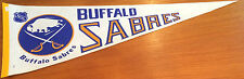 Vintage Buffalo Sabres NHL Hockey Pennant NOS Late 1970s 1980 Made in US