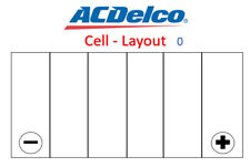 Battery ACDelco S60038 Suits Holden Colorado and Captiva Diesel, Audi, BMW