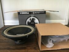 "Acoustic Audio - AA12A -1000 Watt Pair Subs 12"" Inch Car/Truck Subwoofers - PAIR"