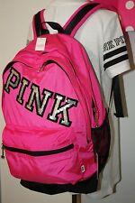 Victoria Secret PINK Bling Sequin Travel Backpack Bookbag Neon bag School Gym
