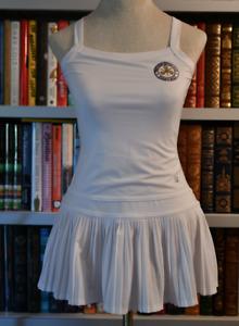 Fila Tennis West Side Club  Forest Hills  Kids White Dress Size 8-10