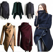 Winter Ladies Casual Long Coat Warm Womens Slim Collar Jackets Outwear Top