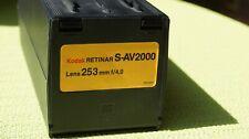 KODAK RETINAR S-AV 2000 Lens 253mm f/1/4 zu verkaufen.