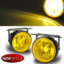 """For I35 3.5"""" Round Yellow Bumper Driving Fog Light Lamp + Switch & Harness"""