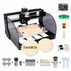 3018 Pro-M 2-in-1 Engraving Machine,DIY Mini CNC Wood Router, 3 Axis GRBL
